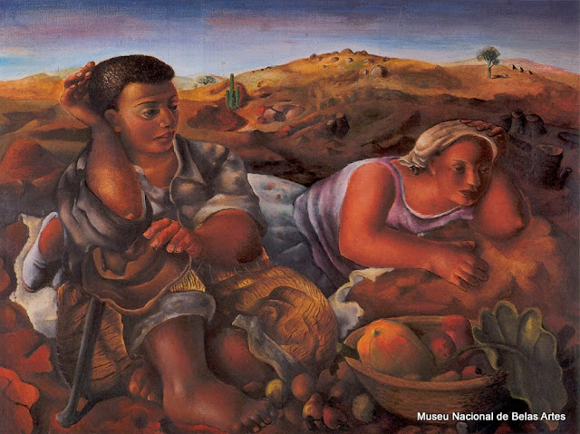"""Colonos"", tela de Di Cavalcanti no MNBA"