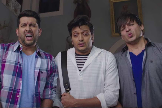 Aftab Shivdasani, Vivek Oberoi and Riteish Deshmukh in Great Grand Masti