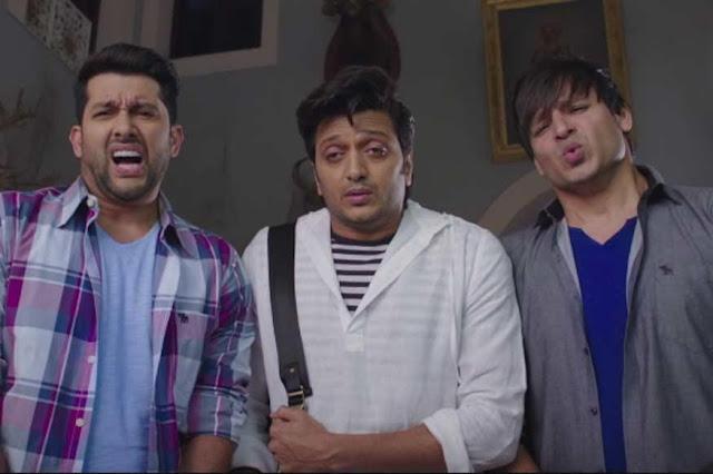 Aftab shivdasani excited in grand masti - 3 part 7