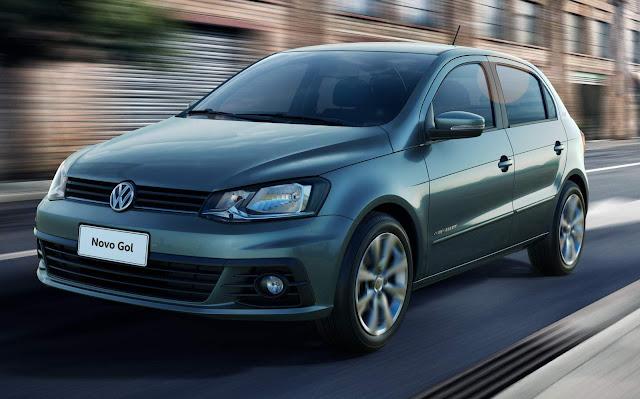 Volkswagen Gol - 2º carro mais vendido em maio