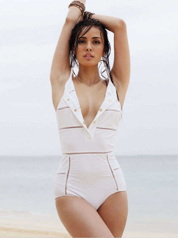Photos topless Megan young