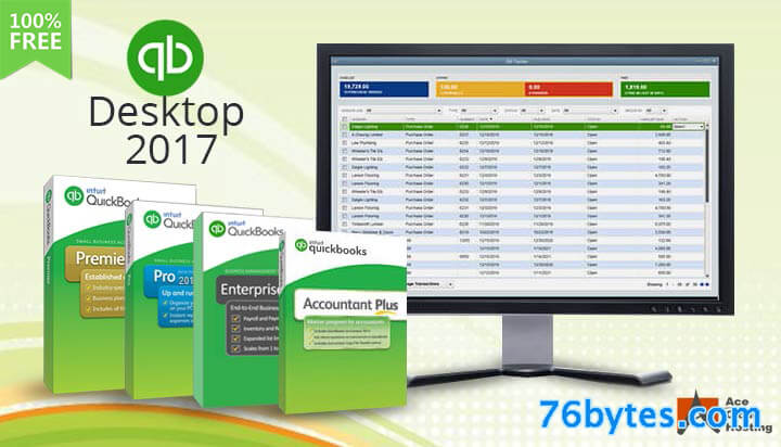 Quickbooks Pro Crack 2017 Plus Product Key