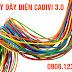 Giá và đặc điểm dây điện cadivi 3.0