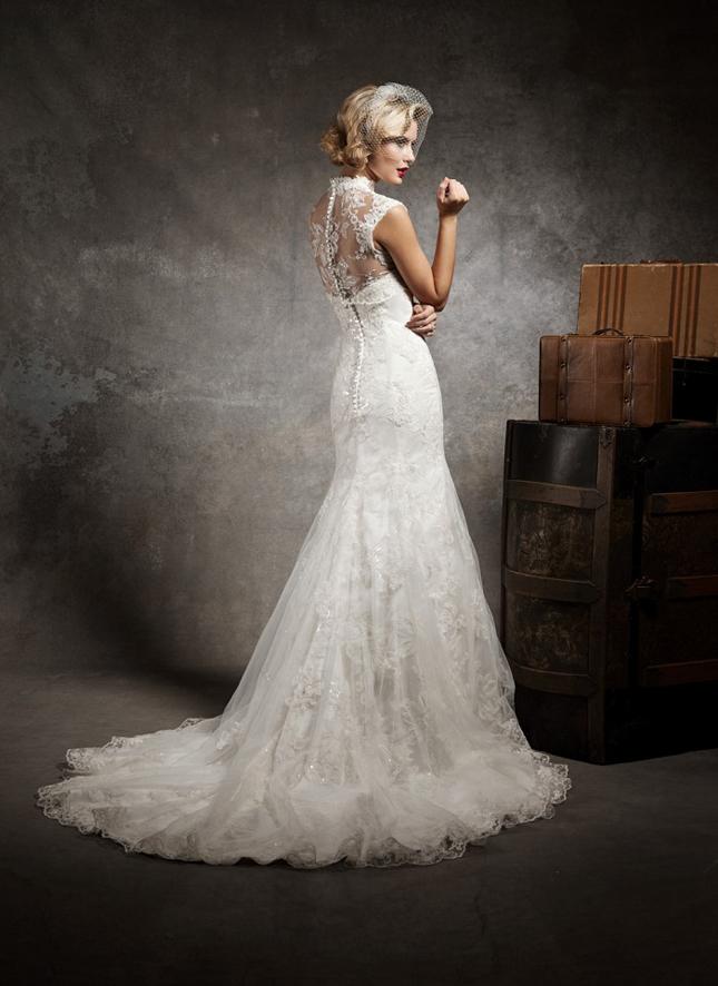 Lace Back Wedding Dresses Part 3 Belle The Magazine