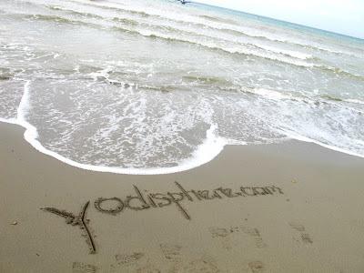 Yodisphere.com sand writings