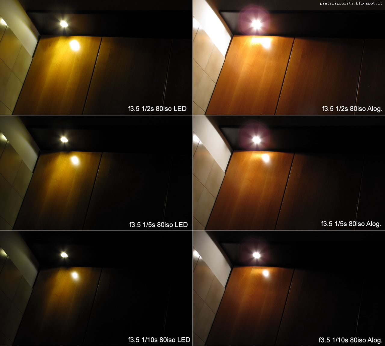 lampadina alogena led : Pietro Ippoliti Thorndyke : Test Lampadine G4 12v a LED COB