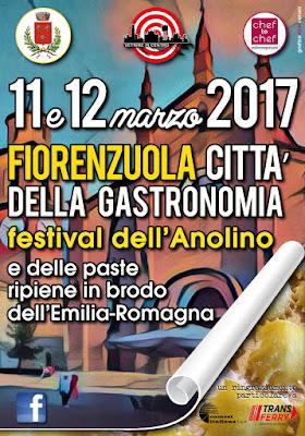 Festival dell'Anolino e delle Paste Ripiene 11-12 Marzo Fiorenzuola d'Arda (PC) 2017