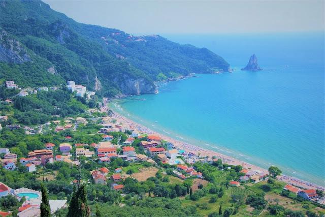 vackraste stränder i Europa - Korfu