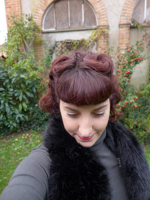 coiffure années 40 rétro