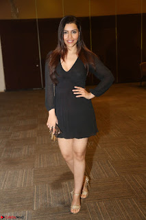 Kyra Dutta in black At Rogue Movie Audio Launch ~  055.JPG