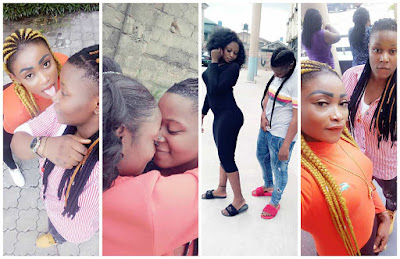 Nigerian lesbian couple based in Warri flaunt their love on Facebook (PHOTOS)