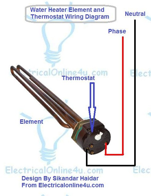 diagram 3 phase water heater element wiring diagram full