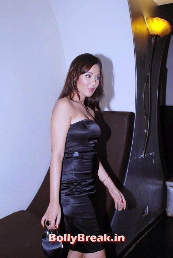 Priyanka Kothari in black dress, Priyanka Kothari Hot Images