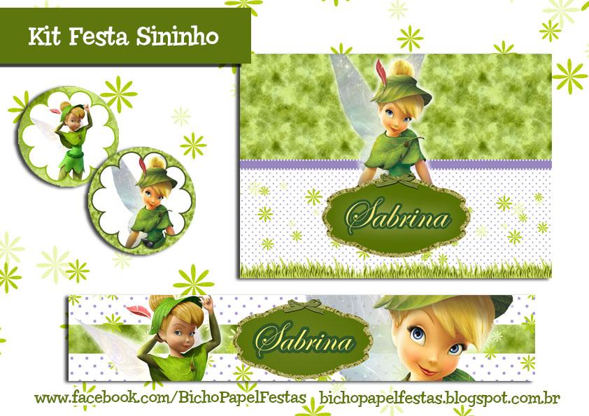 Kit Festa Sininho ( TinkerBell )