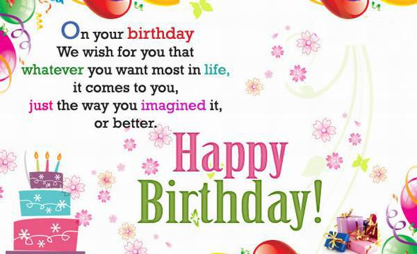 Wish you a very happy birthday words texted wishes card images ...