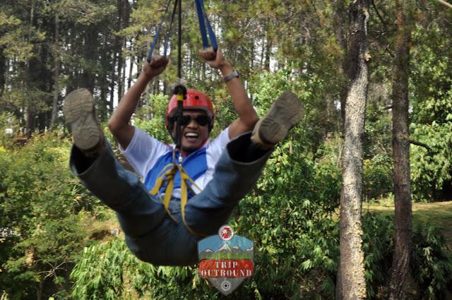 High Ropes Lembang Bandung