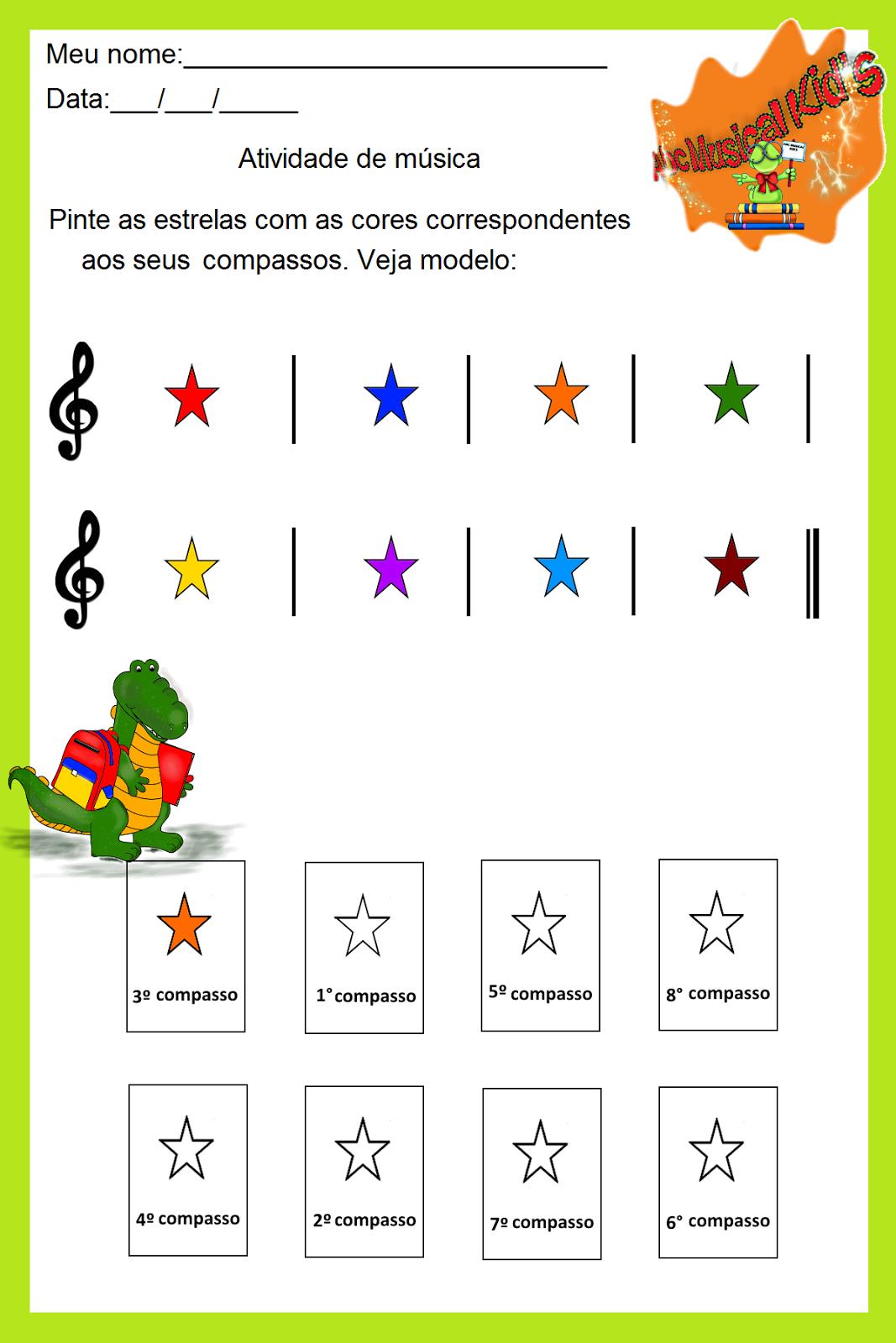 Atividade De Musica Do Blog