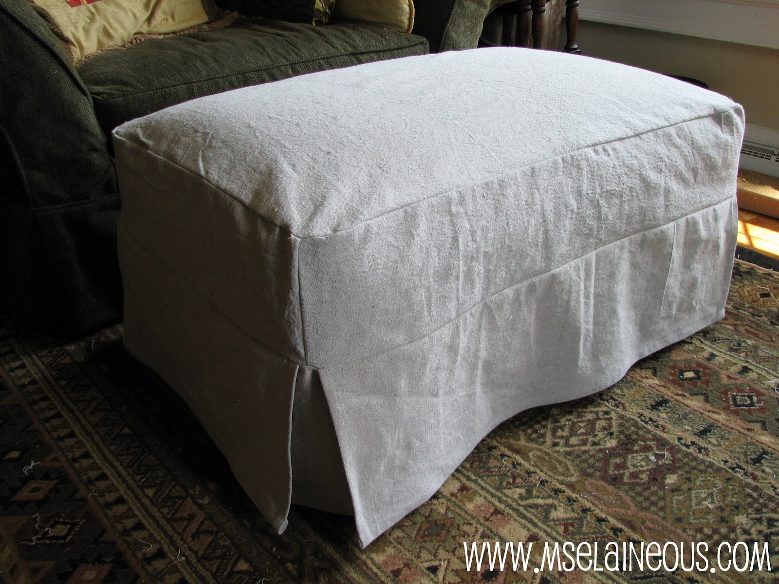 simple diy chair covers back massage pad ms elaineous teaches sewing the slipcover all