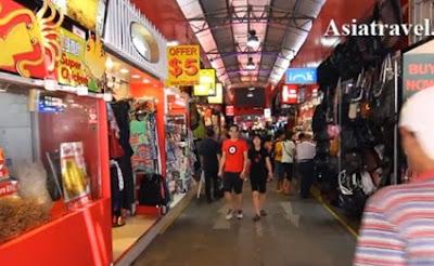 wisata belanja oleh oleh souvenir singapura bugis street