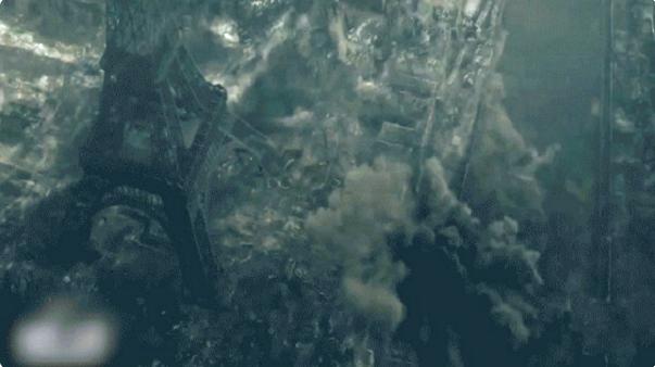 El Estado Islámico hace 'explotar' la torre Eiffel