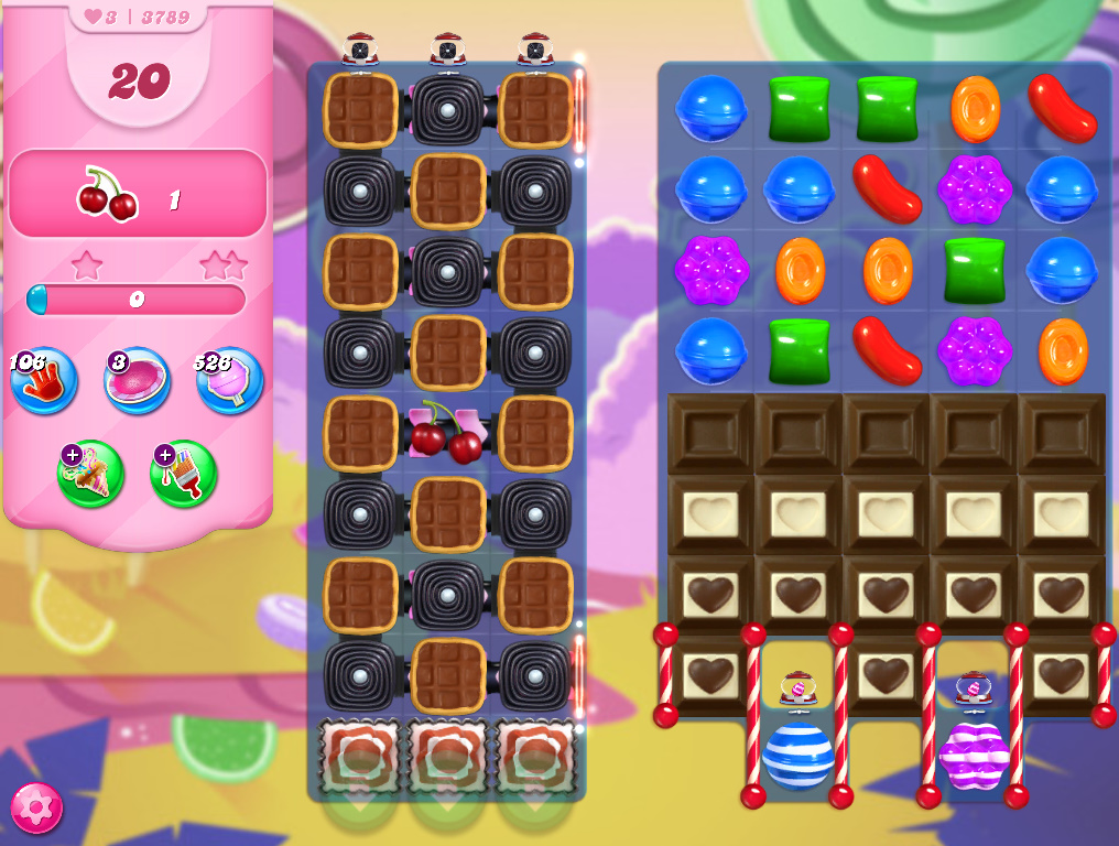 Candy Crush Saga level 3789
