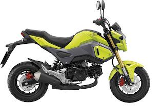 Honda MSX125 yellow