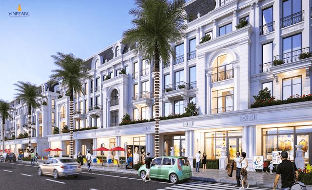 Tổng thể dự án Vinpearl Shophouse Phú Quốc