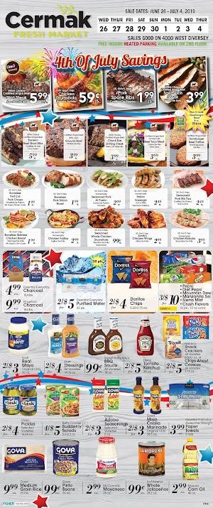 Cermak Weekly Sale Ad July 3 - July 9, 2019