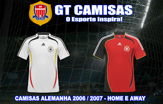 adc1c8f97b GT Camisas  Camisas Copa do Mundo Alemanha 2006 - Todos os Participantes
