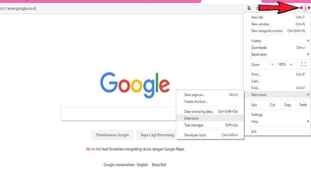 Membuka Situs Yang Diblokir Menggunakan Google Chrome