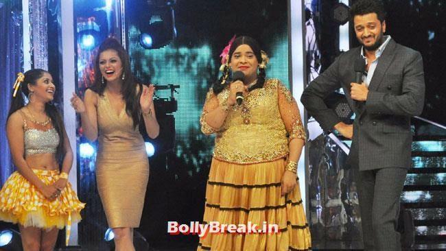 Drashti Dhami, Kiku Sharda and Ritesh Deshmukh, Jhalak Dhikhla Jaa 7 Pics - 14 June Episode
