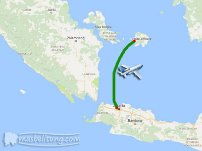 Penerbangan Jakarta-Belitung