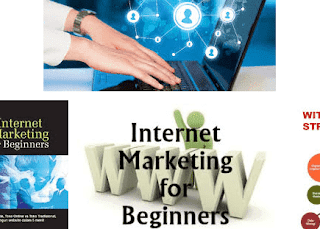 Belajar internet marketing dengan media blog.