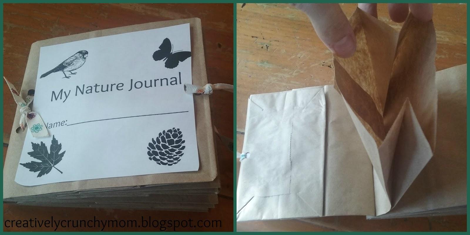 Crunchy Mom New Nature Journal Printables