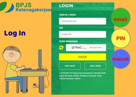 Gambar Ilustrasi 1 Cara Cek Saldo  BPJS Ketenagakerjaan