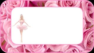 Barbie Princes Ballerina Free Printable  Labels.
