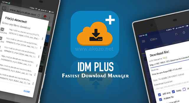 IDM+ Fastest Download Manager v7.4.1 Mod Apk Terbaru (Patched)