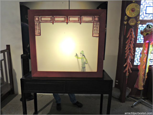 Teatro de Marionetas Chinas en el Jardín Chino, Montreal