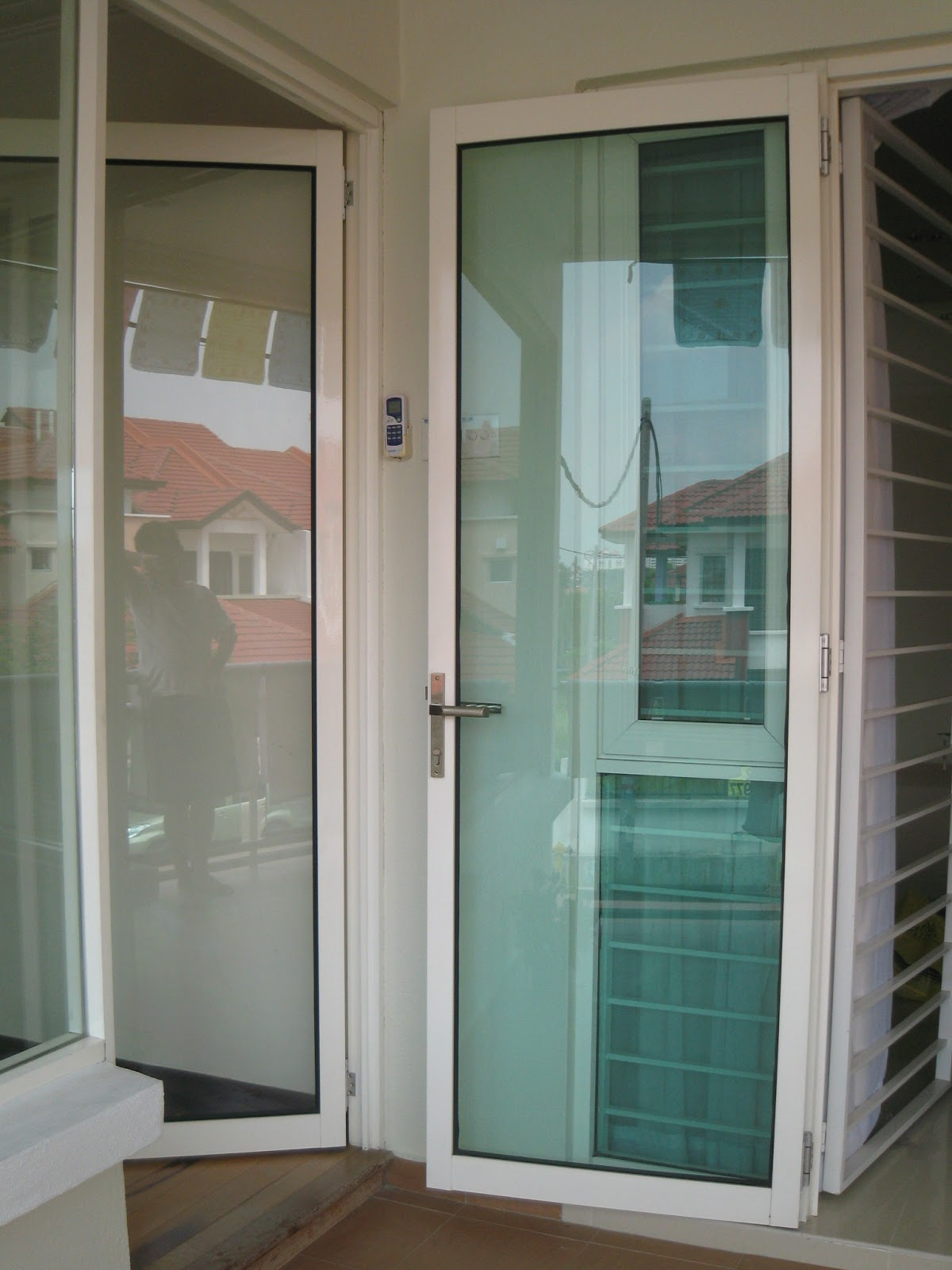 Glass Door Aluminium Door Tempered Glass Door