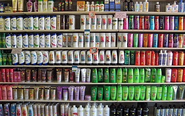shampoo e condicionador na Califórnia