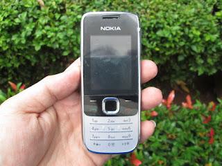 Hape Jadul Nokia 2730c Seken Mulus Phonebook 1000 MicroSD Slot