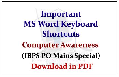 Computer Shortcuts Keys Pdf