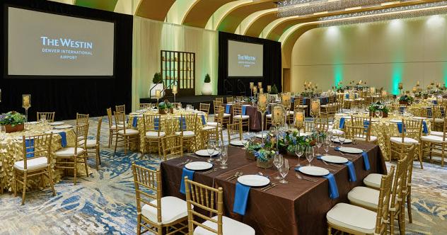 Westin Denver International Airport Wedding Venue