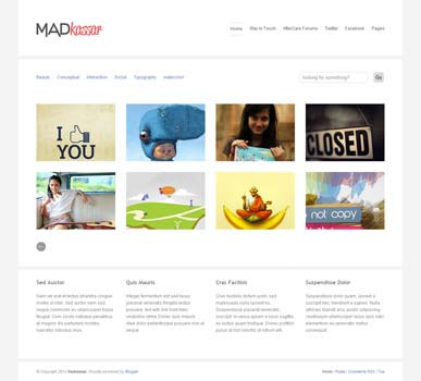 Free Madkassar blogger template  Blogger Gallery Templates  4