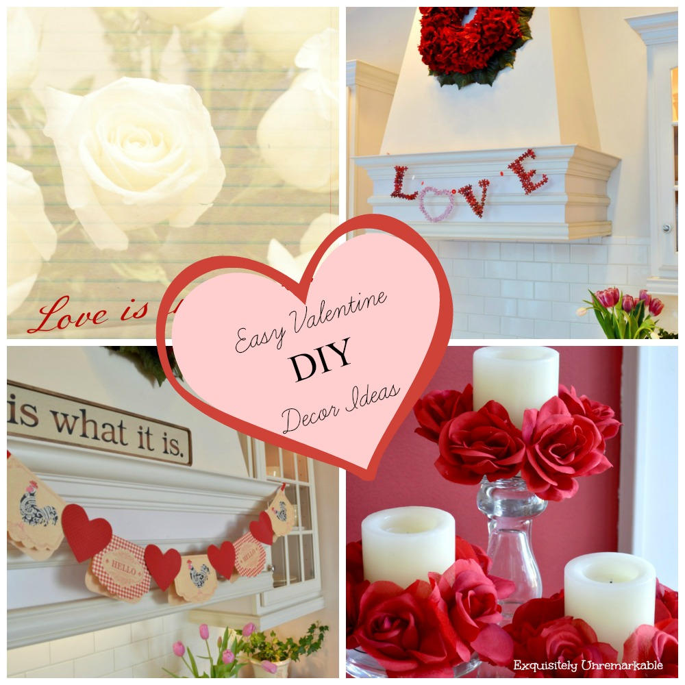 Easy Valentine Craft Ideas Exquisitely Unremarkable