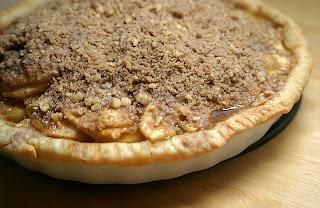 Pear Crumb Pie 4