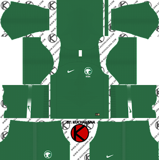 Saudi Arabia 2018 World Cup Kit - Dream League Soccer Kits