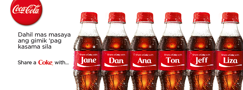 Share a Coke Campaign by Coca-Cola Philippines Review #ShareACoke