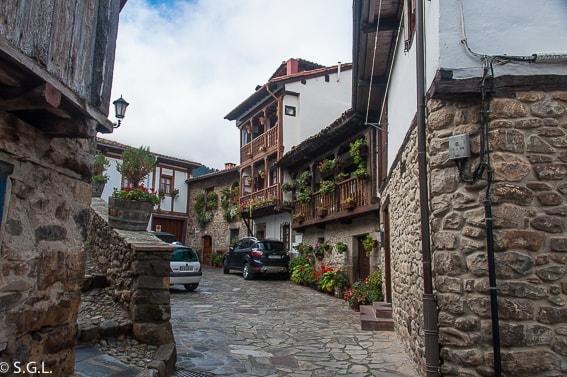 Rincon del casco antiguo de Potes. Disfrutando de Cantabria