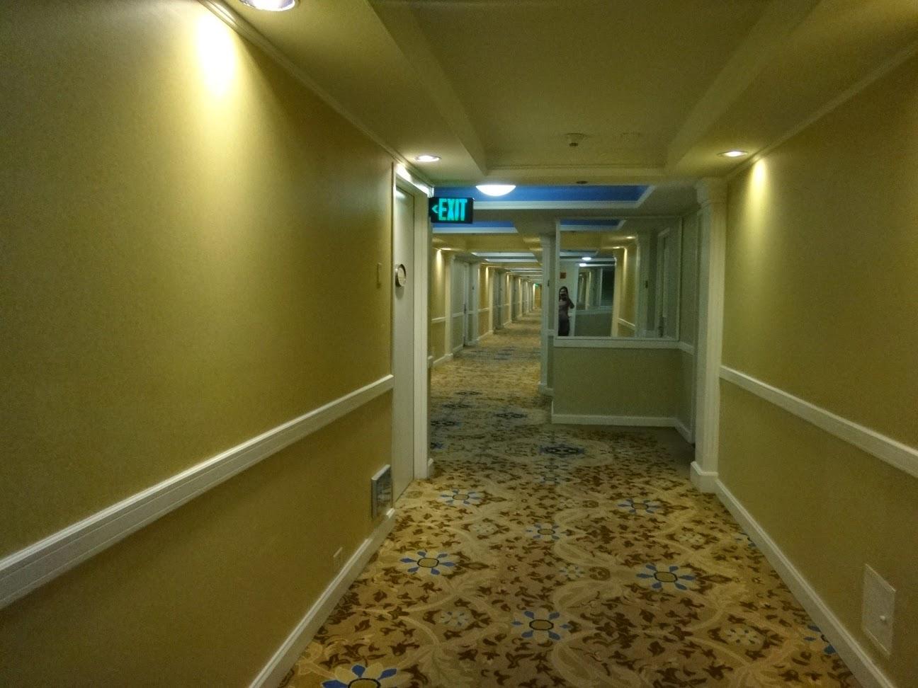 corredores - hotel ballys - las vegas